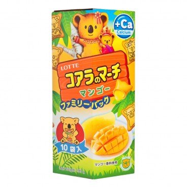 LOTTE Koalas March mango Family Pack 195G