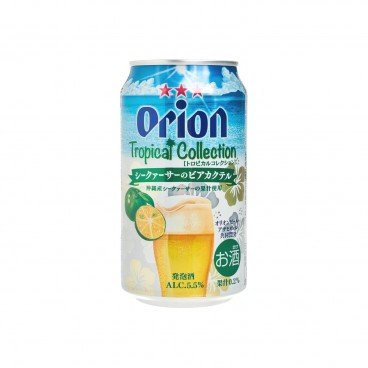 ORION Tropical Collection Shikuwasa Beer 350ML