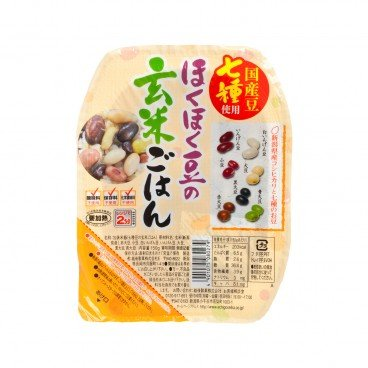 ECHIGOSEIKA Instant Rice brown Rice With 7 Kinds Of Beans 150G