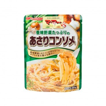 NISSIN Vegetable Clam Consomme Pasta Sauce 260G