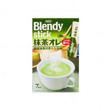 AGF Blendy Stick Milk Matcha Flavor 70G