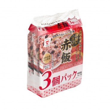 TAIMATSU Instant Rice boiled Rice With Red Beans 160GX3