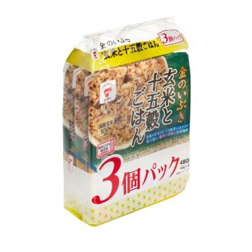 TAIMATSU Instant Rice brown Rice With 15 mixed Grain 160GX3
