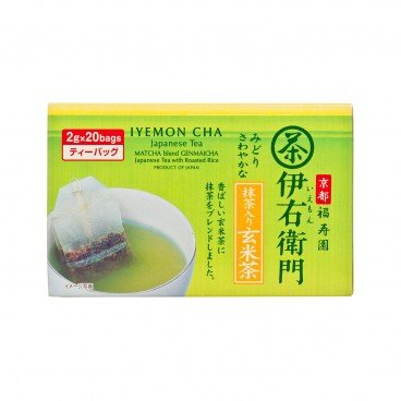UJINOTSUYU - Matcha Brown Rice Tea Bag - 2GX20