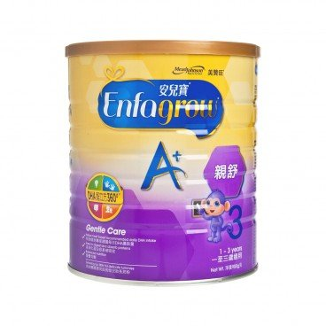 MEADJOHNSON - Enfagrow A 3 Gentle Care Milk Powder - 900G