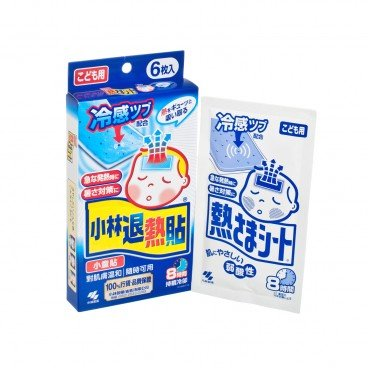 KOBAYASHI Cooling Gel Sheet child 6'S