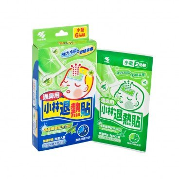 KOBAYASHI Net Cooling Gel For Nasal Congestion 6'S