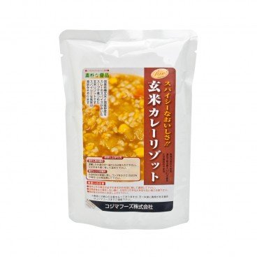 KOJIMA FOODS Japanese Curry Brown Rice Risotto 180G