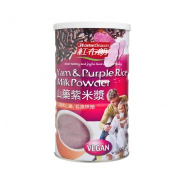 HOME BROWN Yam Purple Rice Milk Powder 500G