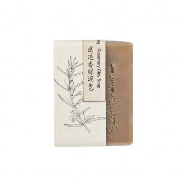 SISAHANDMADE - Rosemary Green Clay Soap - 95G