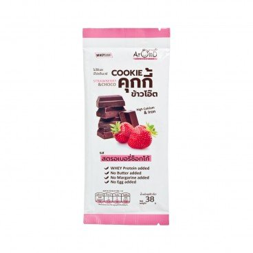 AROMD Oat Cookies strawberry Choco 38G