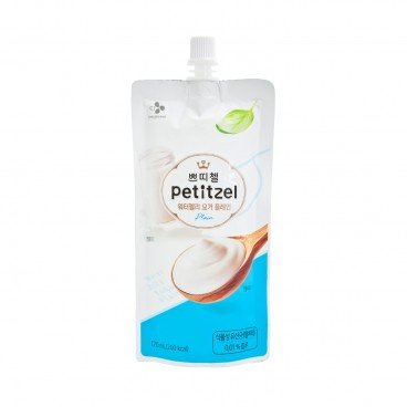 CJ Petitzel Water Jelly yogurt Plain Flavor 170ML