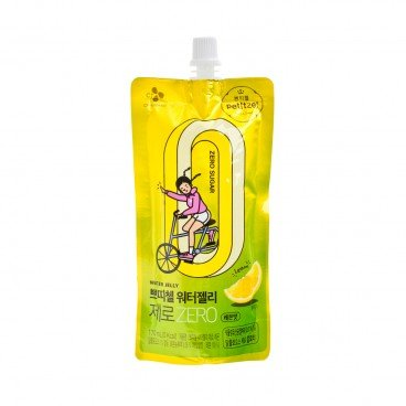 CJ Petitzel Zero Water Jelly lemon Flavor 170ML