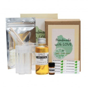 ESSENTIAL ELEMENTS - Diy Bergamot Moisturizing Lip Balm Kit - SET