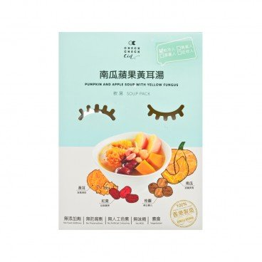 CHECKCHECKCIN Pumpkin And Apple Soup With Yellow Fungus 350G