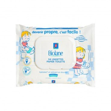BIOLANE Toilet Paper Wipes 54'S
