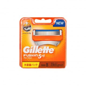 GILLETTE Fusion Manual 5 1 Blades 8'S