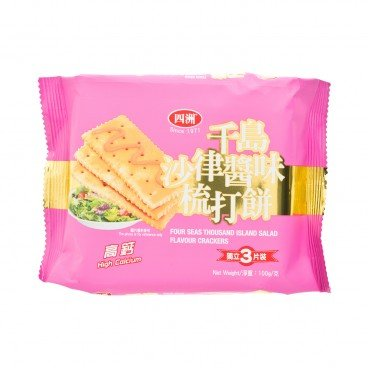 FOUR SEAS - Thousand Island Salad Flavour Crackers - 100G