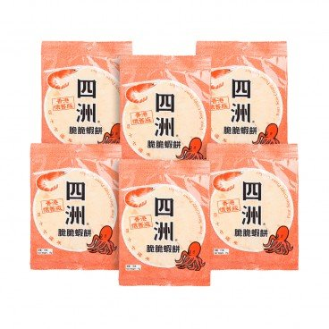 FOUR SEAS - Crispy Prawn Cracker - 15GX6