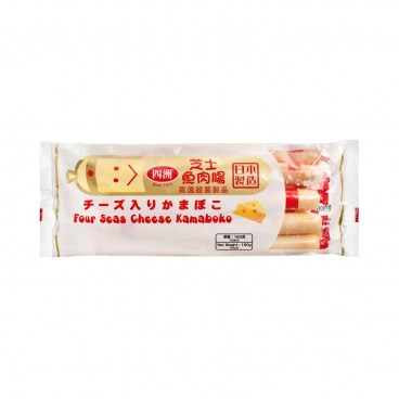 FOUR SEAS Cheese Kamaboko Fishsausage 160G