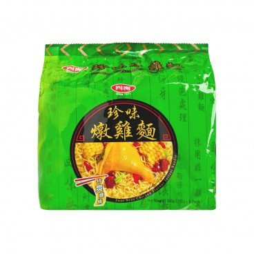 FOUR SEAS Chicken Flavor Inst noodle 100G X 5