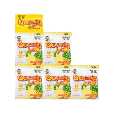 WANT WANT Hot Kids Fruit Snack Pineapple 25GX5