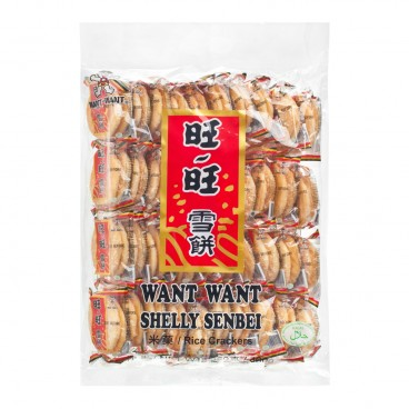 WANT WANT Shelly Senbei Rice Crackers 360G