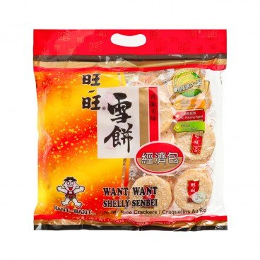 WANT WANT Shelly Senbei Economy Pack 400G