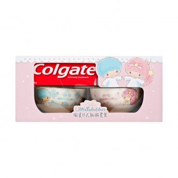 COLGATE Cdc Grf Twin Pack With Free Twin Star Bowls random 250GX2