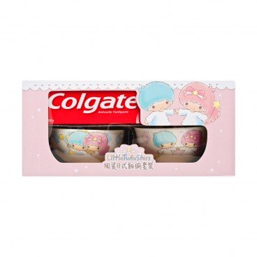 COLGATE Cdc Icm Twin Pack With Free Twin Star Bowls random 250GX2
