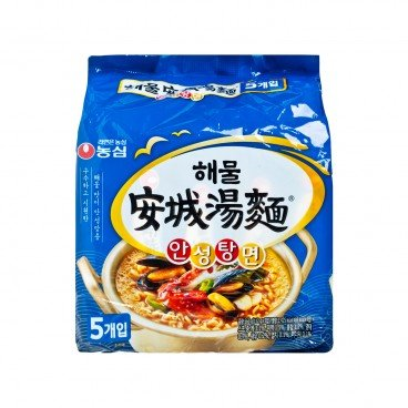 NONG SHIM Ansungtangmyun seafood Flavor 112GX5