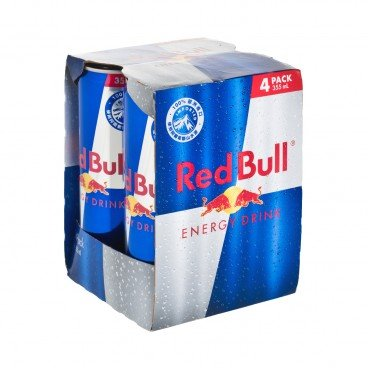 RED BULL - Energy Drink - 355MLX4