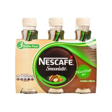 NESCAFE Smoovlatte Hazelnut 268MLX3