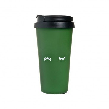 CHECKCHECKCIN Thermos dark Green PC