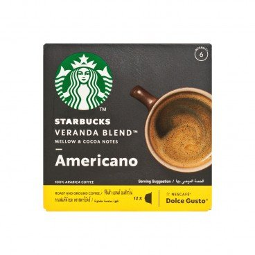 STARBUCKS - Veranda Blend™ Blonde Roast Coffee Capsules - 12'S