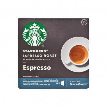 STARBUCKS - Espresso Roast Dark Roast Coffee Capsules - 12'S