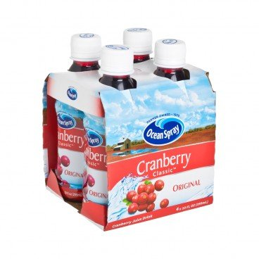 OCEAN SPRAY - Cranberry Classic - 295MLX4