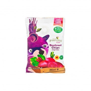 GREENDAY Happy Fruit Farm beetroot Chips 5G