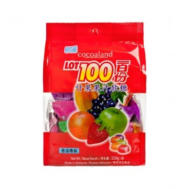 COCOALAND Lot 100 Gummy Candy assorted 320G