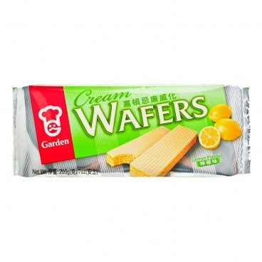 GARDEN Cream Wafers lemon 200G