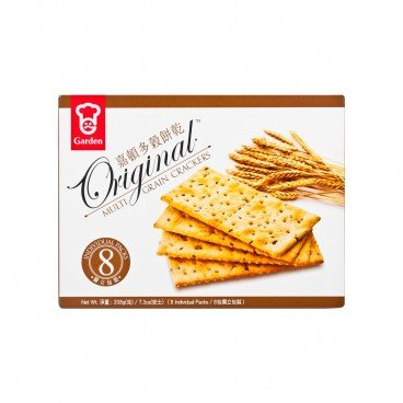 GARDEN Crackers multi Grain 208G