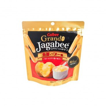 CALBEE Grand Jagabee Hakkou Butter Potato Fries 42G