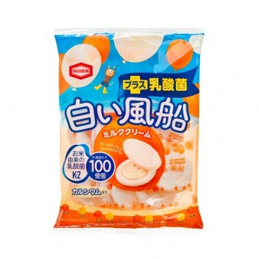 KAMEDA White Balloon Milk Flavour Crackers 18'S