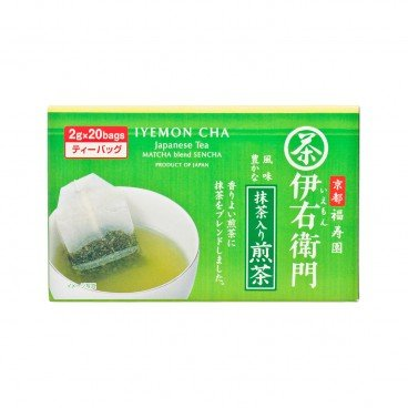 IYEMON - Matcha Roasted Green Tea - 2GX20