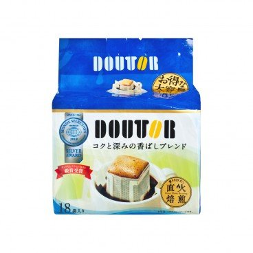 DOUTOR Flame Roasting Rich Drip Coffee 7GX18