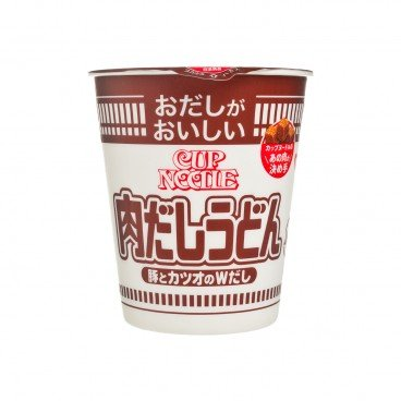 NISSIN Cup Noodle meat Sauce Udon 63G