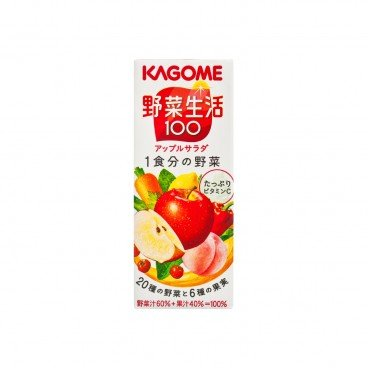 KAGOME Apple Mixed Juice 200ML