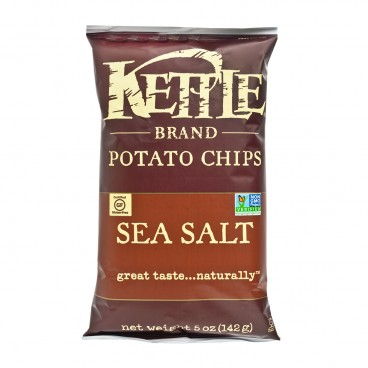 KETTLE Chips Sea Salt 5OZ
