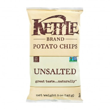 KETTLE Chips Unsalted 5OZ