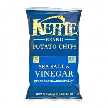 KETTLE Chips Sea Salt Vinegar 5OZ
